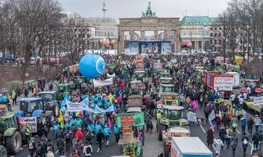 "Demonstration ""Wir haben es satt"" am Brandenburger Tor 2019"