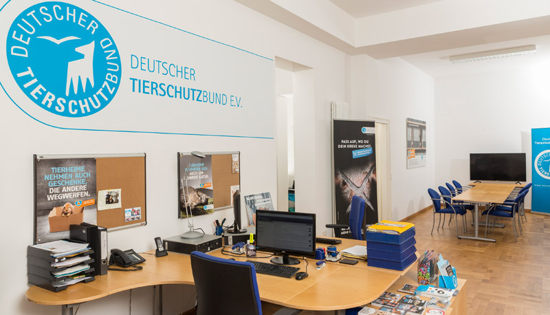 The Berlin office of the German Animal Welfare Federation.