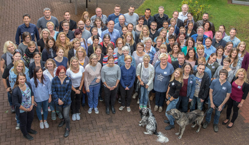 Team of the German Animal Welfare Federation